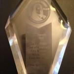 The lovely Ben Franklin Award for Best Autobiography/Memoir - Go For Orbit