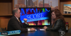 Stephanie Huffman Score on Business
