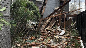 Nashville Tornado damage